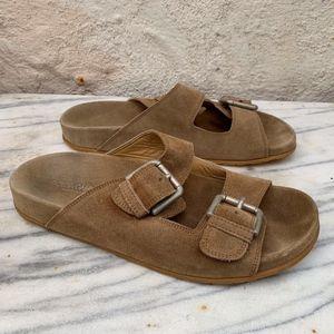 Dolce & Gabbana Men's 9.5 Beige Suede Sandals